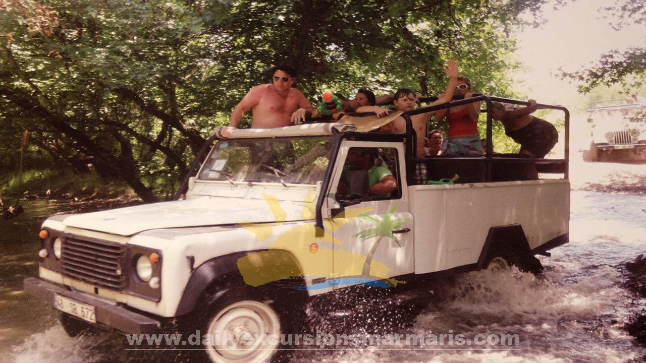 Marmaris jeep safari, Jeep safari in Marmaris Turkey