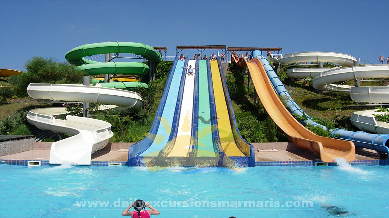 Marmaris aqua dream, Aqua dream waterpark in Marmaris Turkey