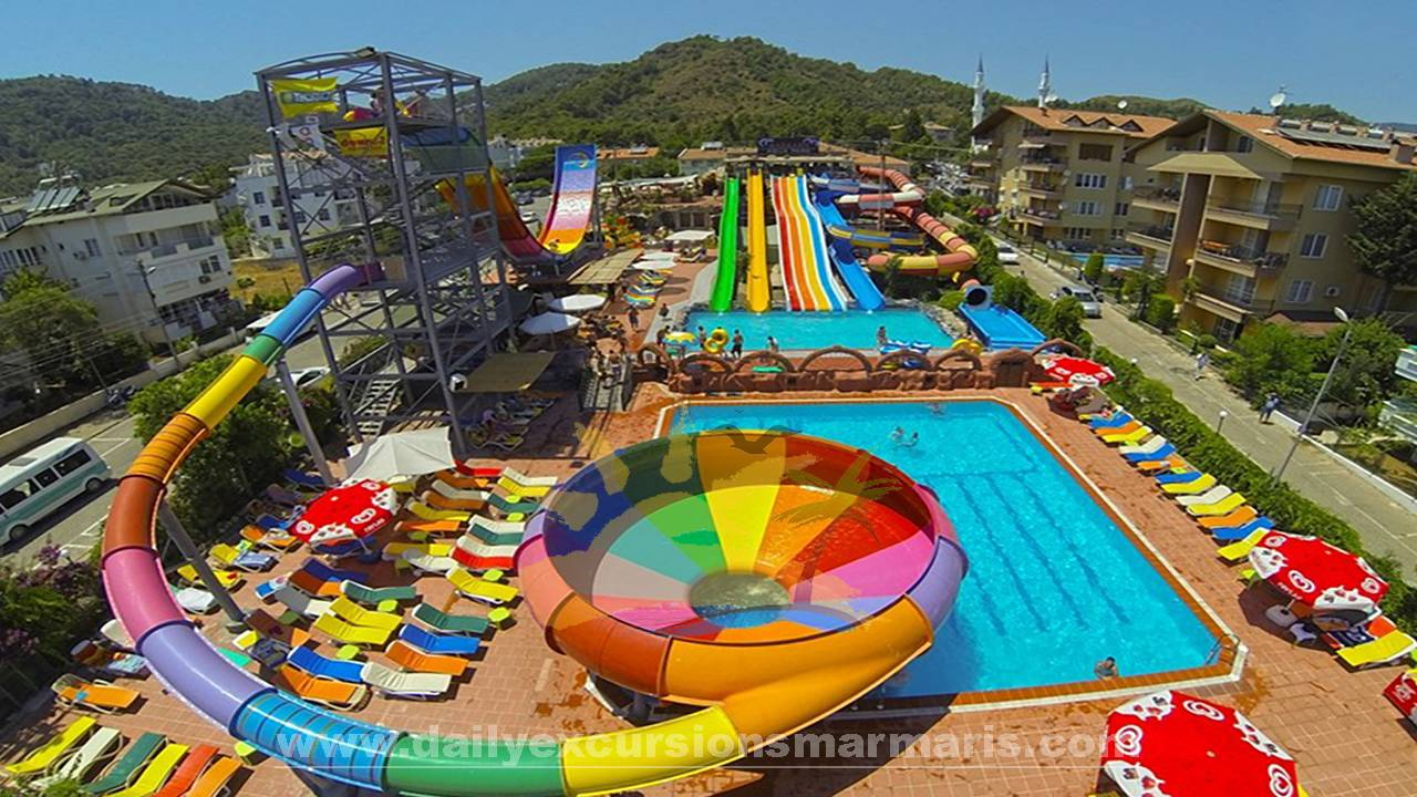 Marmaris star aquapark, Aqua park in Marmaris Turkey
