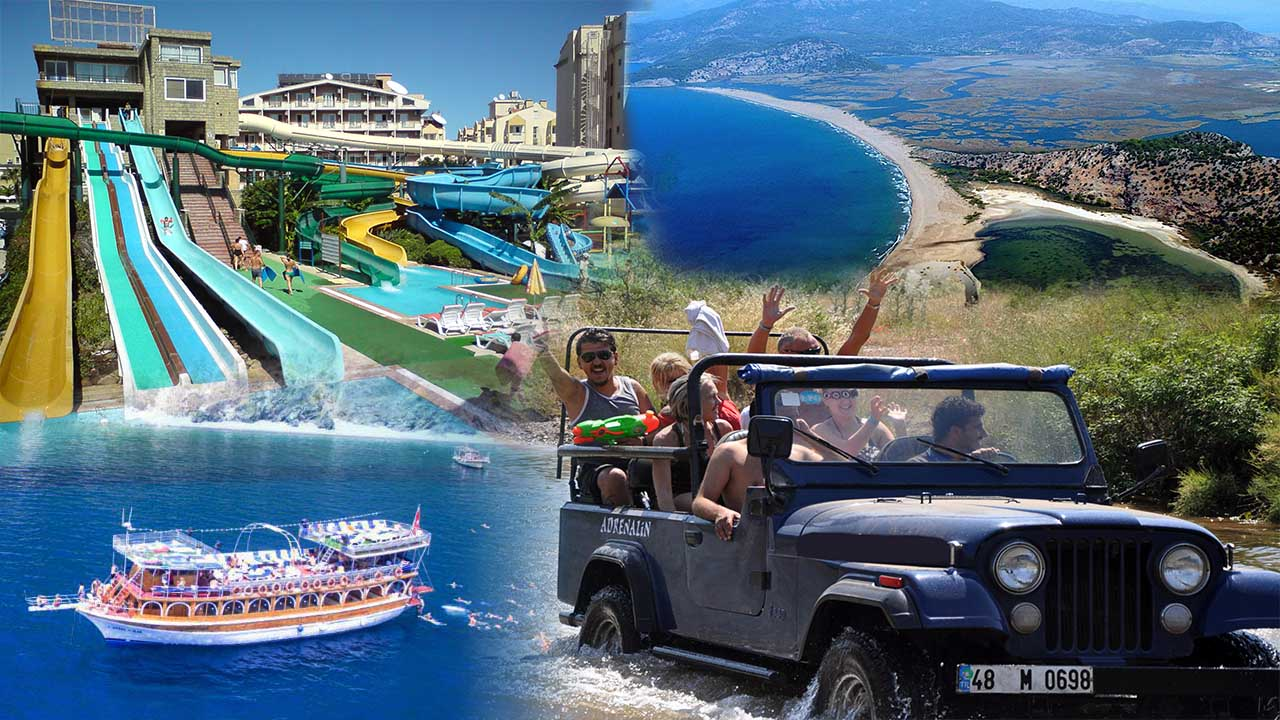 Marmaris excursions package, Platinum excursions package