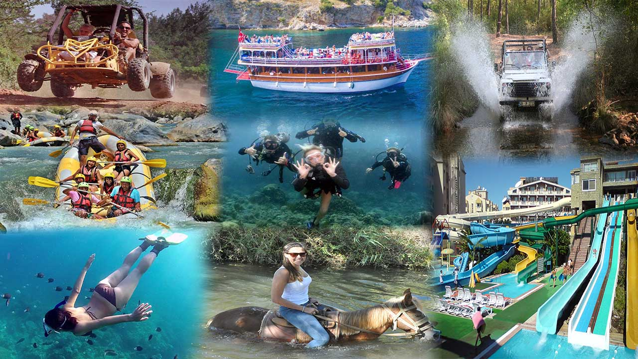 Marmaris excursions package, Excursions package in Marmaris