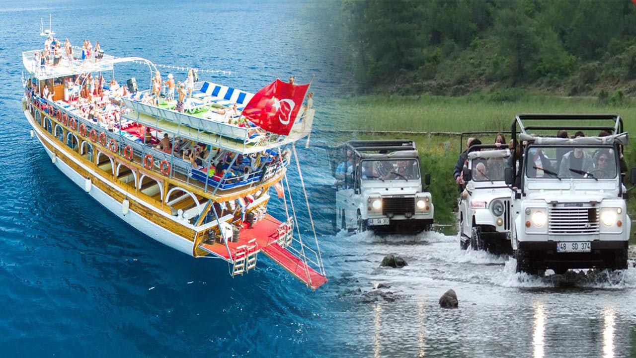 Icmeler excursions packages, Excursions in İçmeler Marmaris