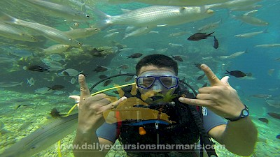 Marmaris scuba diving, Scuba diving in Marmaris Turkey