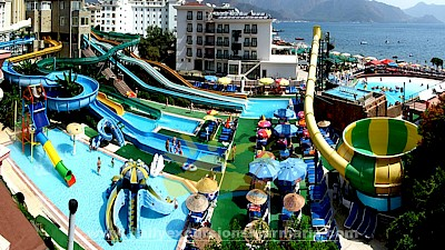 Marmaris Atlantis aquapark, Aquapark in Marmaris Turkey, Water parks in Marmaris Turkey